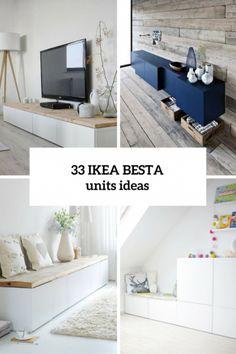 45 Ways To Use IKEA Besta Units