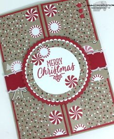 Mary Deatherage: Stamps-N-Lingers - Hang Your Stocking Shutter Card 4 - 8/22/16.  (Pin#1: Interactives...Tutorial.  Pin+: Christmas: