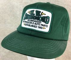 Extra Off Coupon So Cheap Vtg Snapback Foam Green H. Drummond Petroleum  Auto Parts Patch 1959 K Products 9cdc0c360828
