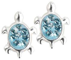 Bijou Brigitte Stud earrings - Turtle
