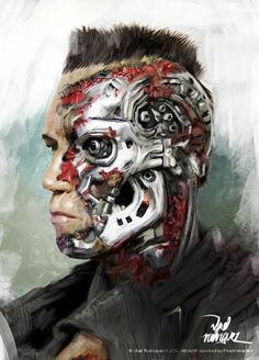 Terminator by Vlad Rodriguez www.vladrodriguez.co
