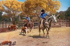 "Tim Cox - Western Art ""Branding the Remnants"" Cowboy Artwork, Western Photo, Gado, Cowgirl And Horse, Hand Art, Equine Art, Wildlife Art, Horse Art, Beautiful Paintings"