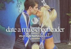 Check I love my cheerleader boy