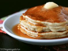 Banana Pancakes   My Baking Addiction just made these for breakfast! Pinning to remember soo yummy!