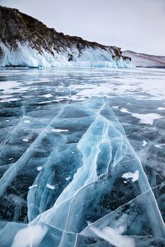 Russian lake Baikal in the winter Winter Landscape, Landscape Photos, Landscape Photography, Abstract Photography, Lake Pictures, Nature Pictures, Lake Photos, Winter Photography, Nature Photography