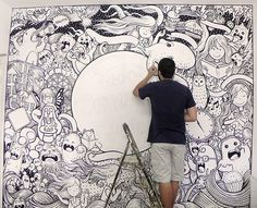 Mural painting for TCT Agency on Behance