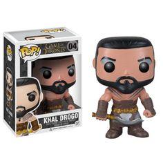 POP! Game of Thrones - Khal Drogo - Bonecos Colecionáveis e Brinquedos é na ITtoys