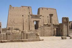 Temple of Horus (c. 300 BC), Edfu, Egypt