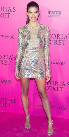 15 Jaw-Dropping Looks from the Victoria's Secret Fashion Show After-Party - Sara Sampaio from InStyle.com
