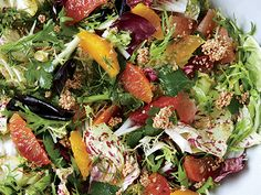 Citrus Salad with Fennel Vinaigrette Recipe  | Epicurious.com