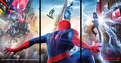 First official poster for The Amazing Spider-Man 2 lands | The Movie Bit