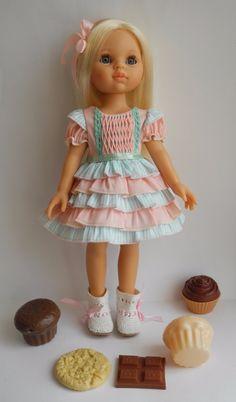 Нарядные платьица на Paola Reina 32 см / Одежда для кукол / Шопик. Продать купить куклу / Бэйбики. Куклы фото. Одежда для кукол