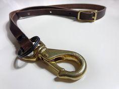 keychain necklace leather - Google-haku