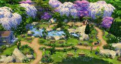 Cherry Blossom Park - StudioSims Creation