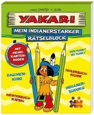 Yakari. Mein indianerstarker Rätselblock - Buch -