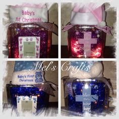 Baby's First Christmas Our Baby, Baby Boy, Babys 1st Christmas, N Girls, Craft Sale, Snow Globes, Gift Wrapping, Create, Gifts