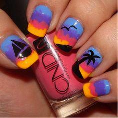 Summer nails ☀
