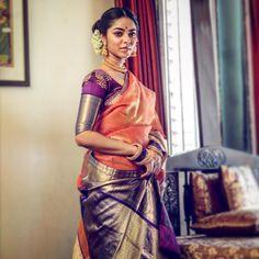 "3,393 Likes, 34 Comments - Ayush Kejriwal (@designerayushkejriwal) on Instagram: ""'Manbhavati' For the love of Kanjiveram ❤️ For purchases email me at…"""