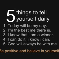 No matter what happens in the day today is your day and do not let anyone ruin your smile and try to change who you are remember God made you perfect and you're a winner #jesusloveu #believe #in #you #selfcontrol