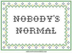 PDF: Nobody's Normal