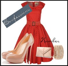 """Modern Pin Up"" by trixiecanuck on Polyvore"