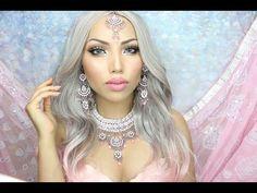 Bollywood 'Barbie' Makeup Tutorial !!! - YouTube
