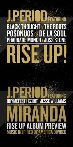 J.Period feat. Various Artists - RISE UP!/Miranda [MP3]