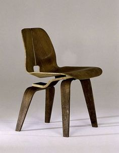 Charles & Ray Eames, Lounge Chair Prototype, 1945_USA