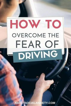 Driving anxiety can restrict your life. Learn how to overcome driving anxiety with these 8 tips, especially if you are living with social anxiety. Driving Tips For Beginners, Safe Driving Tips, Driving Teen, Driving Signs, Driving School, Anxiety Tips, Anxiety Help, Social Anxiety, Learning