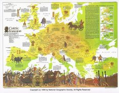 Map of Celtic Europe