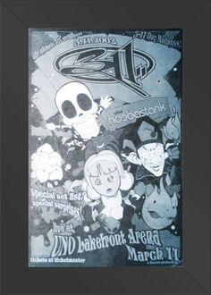 11x17 Concert Poster 311 with Hoobastank Poster Print Framed or Un-Framed