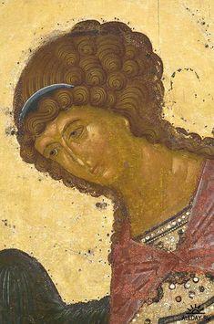 Архангел Гавриил. Около 1497 года. Фрагмент иконы. Byzantine Icons, Byzantine Art, Hair Icon, Religion Catolica, Russian Icons, Religious Icons, Orthodox Icons, Sacred Art, Gods And Goddesses