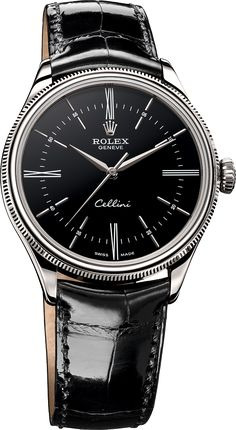 Rolex Cellini Time or gris - The Watch Observer Swiss Luxury Watches, Luxury Watches For Men, Rolex Cellini, Rolex Watches For Men, Men's Watches, Dress Watches, Latest Watches, New Rolex, Bracelet Cuir
