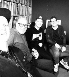 april 2015 we had a splendid studio session with the guys from Chocolate Puma!