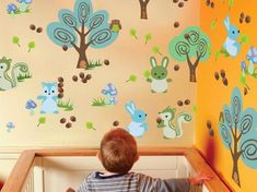 12 Beautiful Wall Art Stickers for Baby Nursery