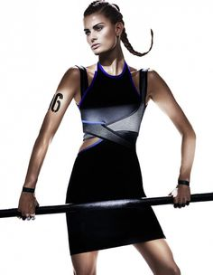 Alexander Wang's capsule collection for H&M. The collection doesn't land in stores until November photo by Mikael Jansson-lensed ad campaign. For the shoot, Wang includes star players like Joan Smalls, Raquel Zimmermann, Isabeli Fontana, and Natasha Poly. Sport Style, Sport Chic, Sporty Chic Style, Anna Ewers, Alexander Wang, Aqua Sport, Sport Fashion, Fashion News, Gym Fashion