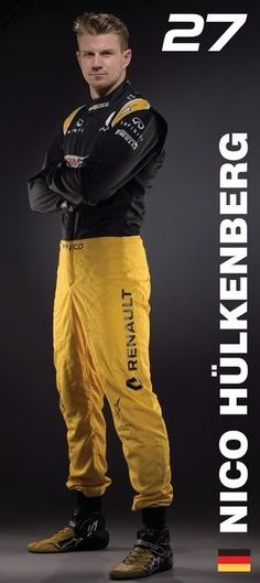Renault Sport Formula One Team - Nico Hülkenberg