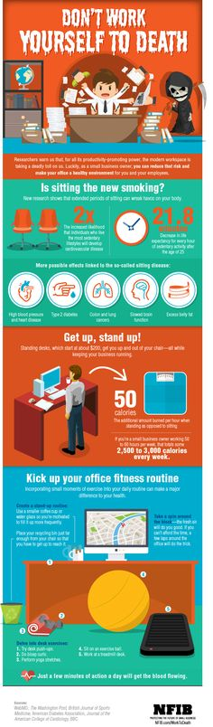 Infographic: Don't Work Yourself to Death | NFIB