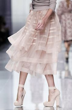 my feet hurt just looking at these shoes but the skirt is FANTASTIC.