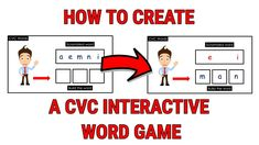 Scramble Words, Cvc Words, Microsoft Powerpoint, Word Games, Family Guy, Classroom, Class Room, Puns, Sight Word Games