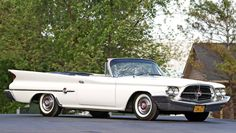 1960 Chrysler 300F Convertible Only 248 of these 300F convertibles were built.