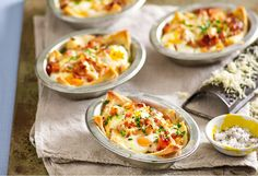 This quick and easy recipe for individual egg-and-bacon pies is perfect for a great grab-and-go breakfast, after-school snack or packing into lunchboxes.