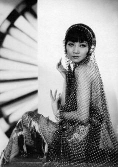 Anna May Wong(1905-1961) was an American actress, first Chinese-American star.