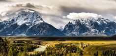Stormy Grand Teton by George Umber on 500px