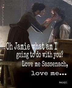 """Jesus replied, """"'You must love the LORD your God with all your heart, all your soul, and all your mind.' Matthew THE BIBLE Jamie Fraser Outlander Outlander Meme, Outlander Season 1, Sam Heughan Outlander, Book Tv, Book Series, Diana Gabaldon Outlander, Outlander Tv Series, Jamie Fraser, Claire Fraser"""