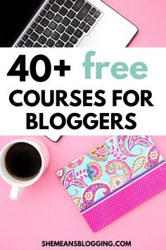 Check out 40+ free online courses for bloggers, and small biz owners! This post has courses on blogging, blog traffic, make money blogging, social media, SEO, photography, email marketing and lots more! Enrol in free courses today. #bloggingresources #blogtips #bloggingtips #socialmedia