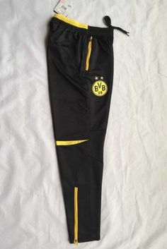 bdfc6e08b258 Dortmund 2015-16 Season Training Pants - Click Image to Close Cheap  Football Shirts