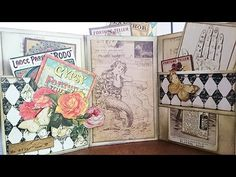 DIY: Fortune Teller Mini Album with Marion Smith Designs papers!