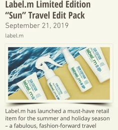 News South Africa, After Sun, Travel Packing, Best Sellers, Fashion Forward, Salons, Product Launch, Bag, Instagram