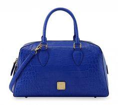 MCM primavera estate 2013 - Bauletto blu - #mcm #blue #bags #bag